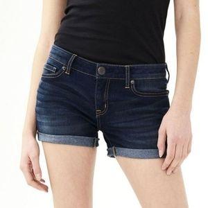 Aeropostle midi jean shorts